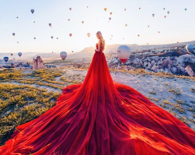 <p> Cappadocia, Thổ Nhĩ Kỳ.</p>