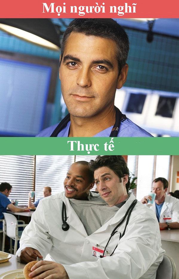 Bác sĩ cũng có những lúc tơi tả và vui vẻ như thế này nha.