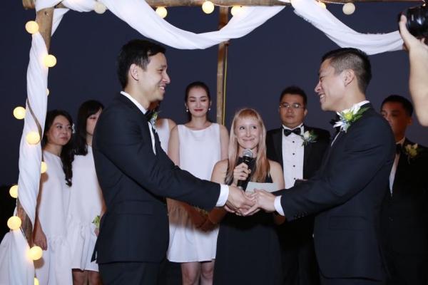 Đám cưới của NTK Adrian Anh Tuấn