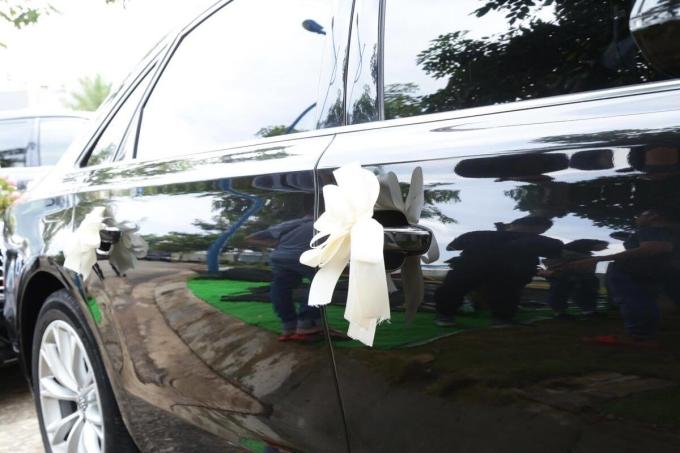 <p> Từng chi tiết của chiếc xe được chăm chút để tạo nên sự sang trọng, chỉn chu nhất.</p>