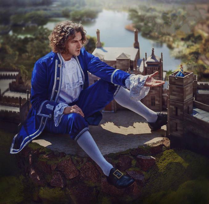 <p> Phân cảnh anh chàngLemuel Gulliver lạc vào xứ sở người tí honLilliput trong tác phẩm 'Gulliver phiêu lưu ký'.</p>