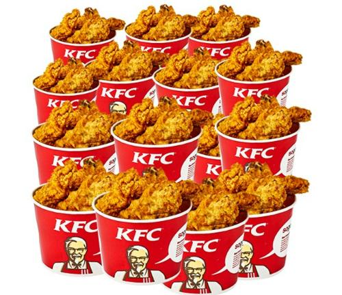 Gà KFC luôn là món ăn yêu thích của rất nhiều bạn trẻ