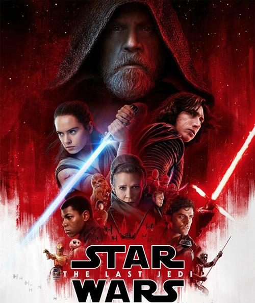 Poster phim Star Wars: The Last Jedi.