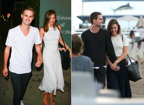 Hai người luôn nắm tay và thân mật như không thể tách rời mỗi lần đi ra ngoài cùng nhau.