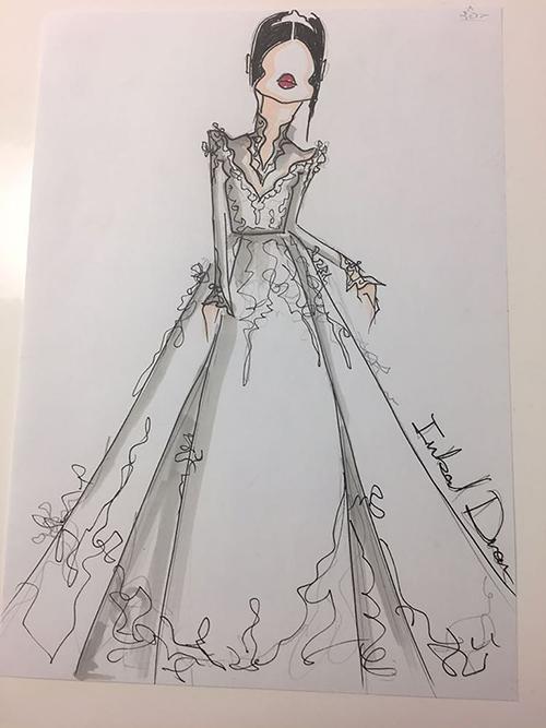 Hé lộ 3 bộ váy cưới của 'Lọ lem' Meghan Markle trong ngày thành Công nương Anh
