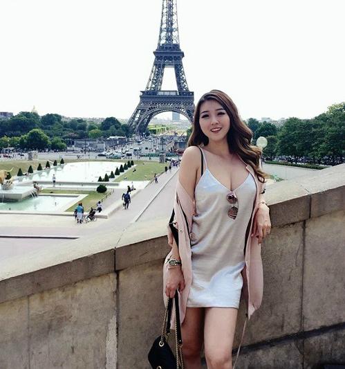 Maribel Witwicky mang trong mình dòng máu lai Trung Quốc - Malaysia.