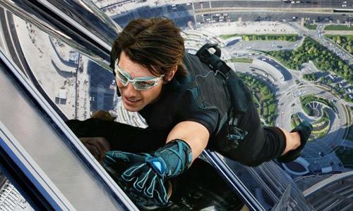 Cảnh leo nhà chọc trời không dùng kỹ xảo của Tom Cruise