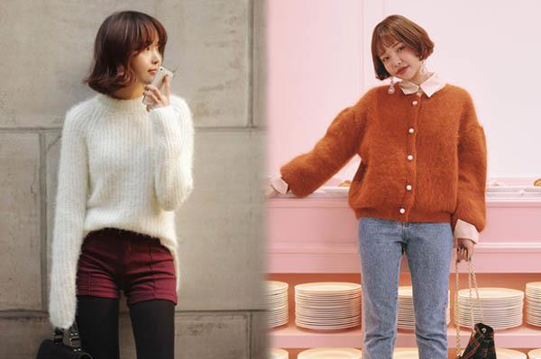 6 kiểu áo len đặc trưng mùa đông của con gái Hàn - 10