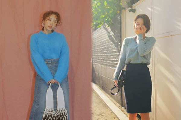 6 kiểu áo len đặc trưng mùa đông của con gái Hàn - 11