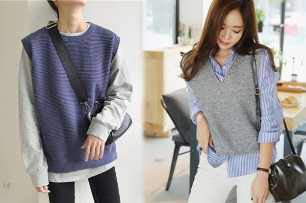 6 kiểu áo len đặc trưng mùa đông của con gái Hàn - 9