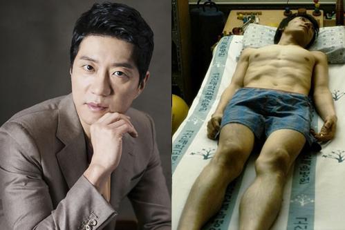 Hình ảnh Kim Myung Min giảm 20kg đến trơ cả xương trongCloser to heaven