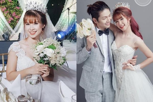 6 cô dâu hot nhất showbiz Việt 2017 - 3