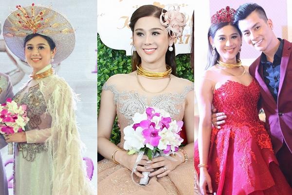 6 cô dâu hot nhất showbiz Việt 2017 - 5