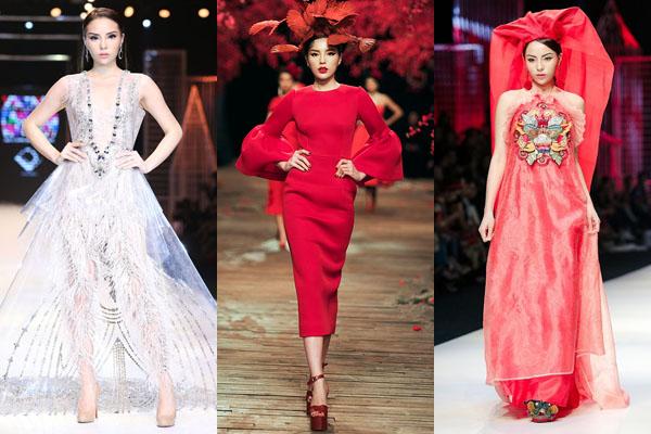 Kỳ Duyên là hoa hậu đắt show catwalk nhất năm 2017.