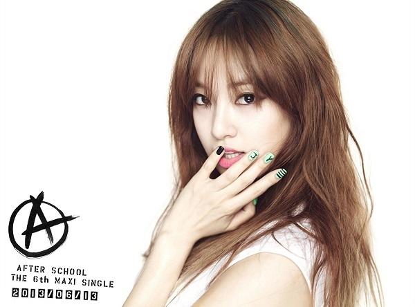 Joo Yeon hồi còn hoạt động trong nhóm After School.