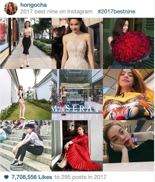 9 khoảnh khắc hot nhất 2017 trên Instagram sao Việt hơn 1 triệu fan - 5