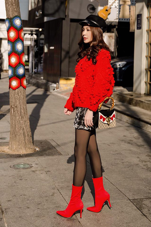 Sao, hot girl Việt mặc gì đi chơi trong tuần mừng năm mới - 5