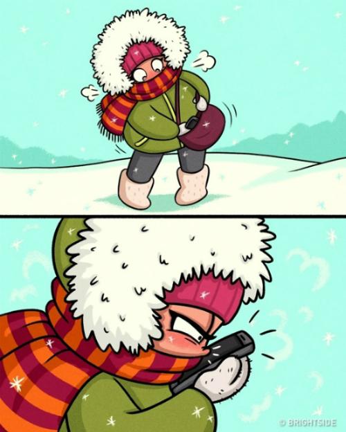 Những nỗi khổ vào mùa đông chỉ con gái mới thấu - 3