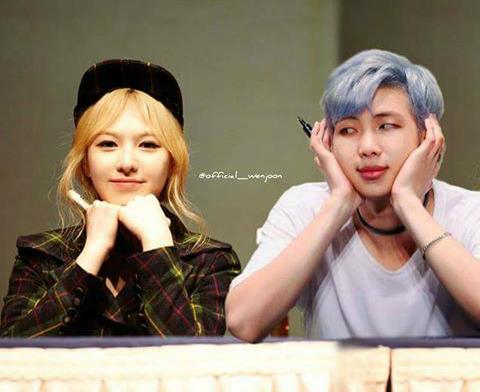Những idol nữ luôn được gán ghép với thành viên BTS (2)