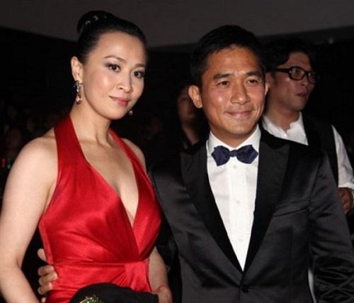 Lưu Gia Linh - Lương Triều Vỹ kết hôn năm 2008 sau 18 năm yêu nhau.