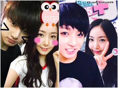 Những idol nữ luôn được gán ghép với thành viên BTS (2) - 4