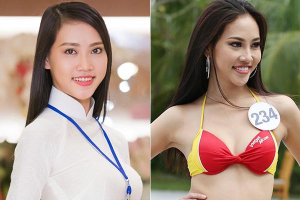 3 cô gái xinh như mộng ở Hoa hậu Hoàn vũ bị nghi sửa răng, thẩm mỹ