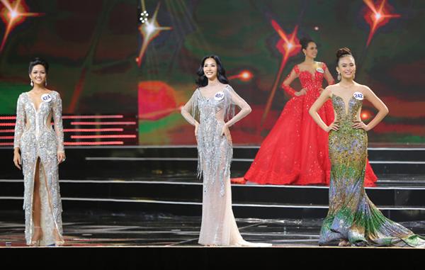 Top 3: HHen Niê, Hoàng Thị Thùy, Mâu Thị Thanh Thủy.