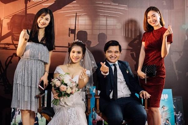 Lan Ngọc và dàn sao Việt dự đám cưới diễn viên Cánh đồng bất tận - 1