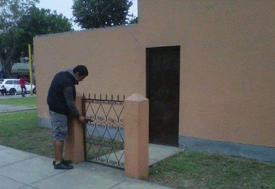 Gọi là nhà có cổngcho oai.