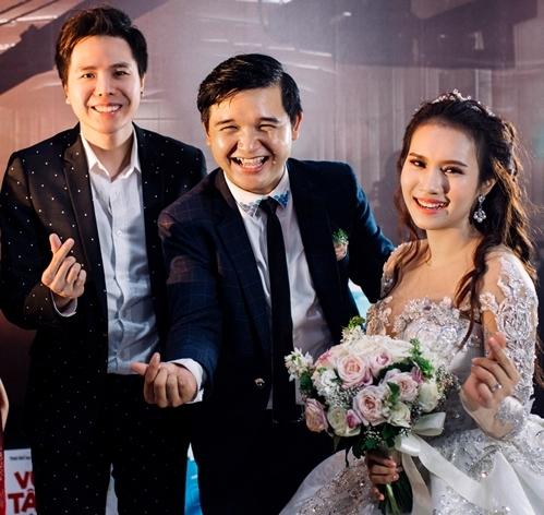 Lan Ngọc và dàn sao Việt dự đám cưới diễn viên Cánh đồng bất tận - 3