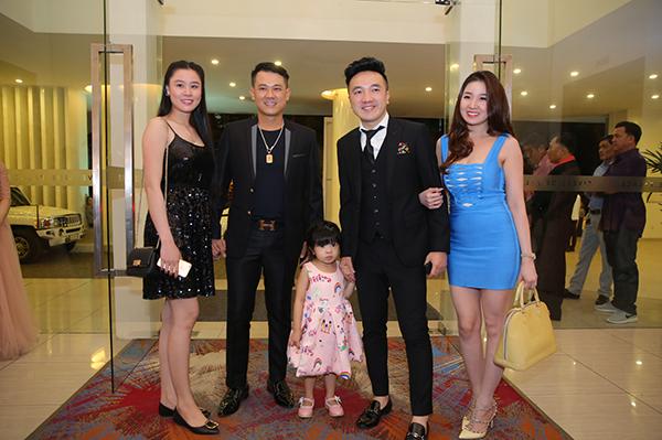 Dàn sao dự đám cưới Lâm Khánh Chi - 9