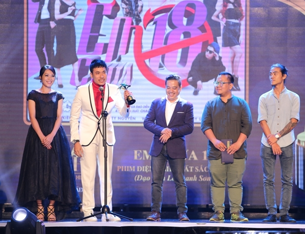 An Nguy chiến thắng giải thưởng điện ảnh cho vai diễn đầu tay - 1