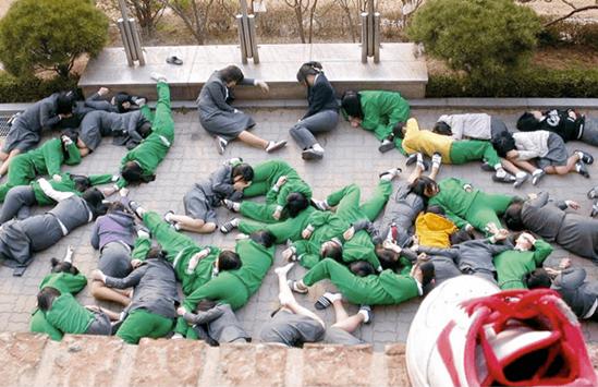 11 màn chơi khăm chẳng giống ai của học sinh Hàn - 9