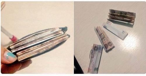 Cách giúp ví tiền của bạn trông dày hơn.