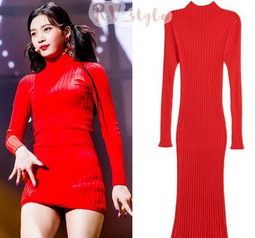 Red Velvet luôn sợ hớ hênh vì stylist có sở thích cắt váy - 3