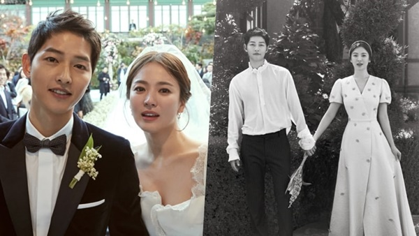 Song Hye Kyo tìm thấy bến đỗ hạnh phúc bên trai trẻ kém 4 tuổi Song Joong Ki.