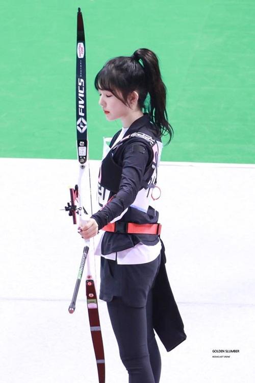Irene, Tzuyu, Na Yeon cạnh tranh cho ngôi vị Nữ thần bắn cung - 7
