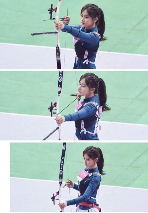 Irene, Tzuyu, Na Yeon cạnh tranh cho ngôi vị Nữ thần bắn cung - 4