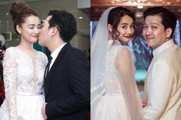 Cặp đôi Trường Giang - Nhã Phương.