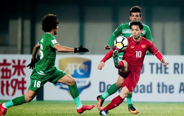 Fan vỡ oà khi U23 lập nên lịch sử vào bán kết giải đấu châu Á - 1