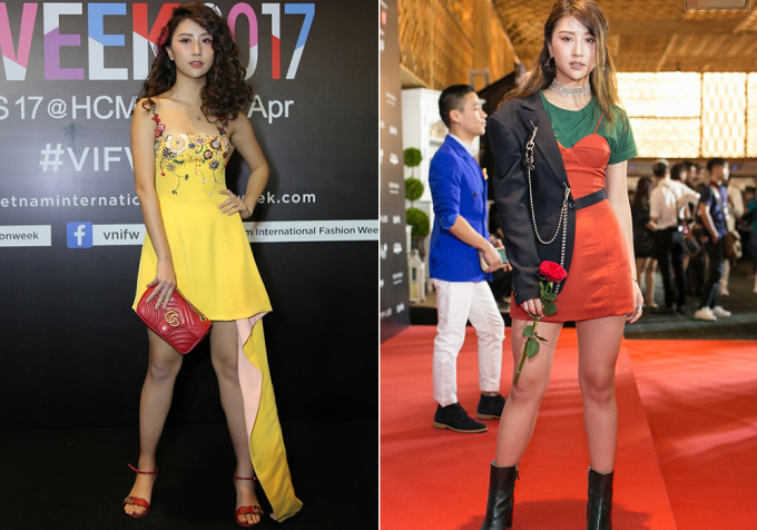 <p> Nhiều bộ cánh của Quỳnh Anh Shyn trên thảm đỏ mắc lỗi phối màu sắc khá lòe loẹt, kém sang và dìm vóc dáng, khác hẳn với style chất chơi ở đời thường.</p>