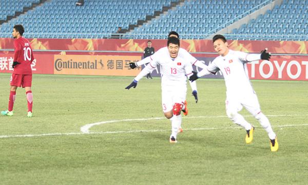 6 chàng trai làm nên chiến thắng lịch sử cho U23 Việt Nam