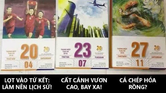 Quyển lịch tiên tri đầy thú vị với dự đoán thần kỳ về U23 Việt Nam - 2