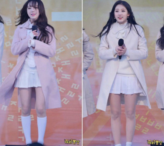 Sao Hàn tím tái vì mặc đồ mỏng manh giữa trời lạnh - 6