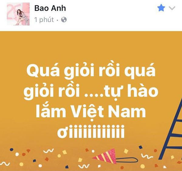 U23 Việt Nam trong lòng sao Việt mãi là người hùng - 1