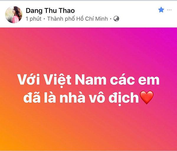 U23 Việt Nam trong lòng sao Việt mãi là người hùng - 3