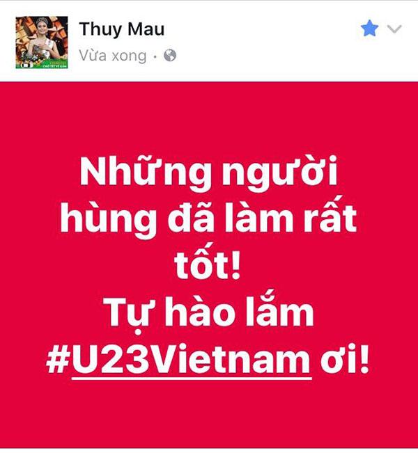 U23 Việt Nam trong lòng sao Việt mãi là người hùng - 6