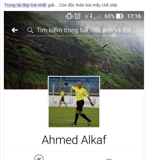 Ảnh chế Ahmed Alkaf - Vị trọng tài đẹp trai nhất mùa giải U23 Châu Á trong mắt người Việt - 14