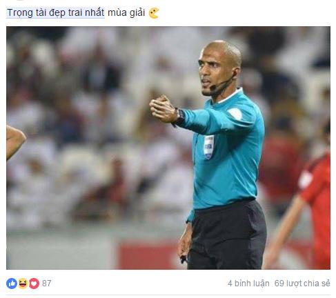 Ảnh chế Ahmed Alkaf - Vị trọng tài đẹp trai nhất mùa giải U23 Châu Á trong mắt người Việt - 15