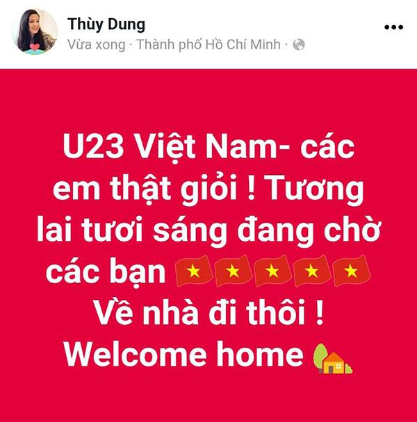 U23 Việt Nam trong lòng sao Việt mãi là người hùng - 9
